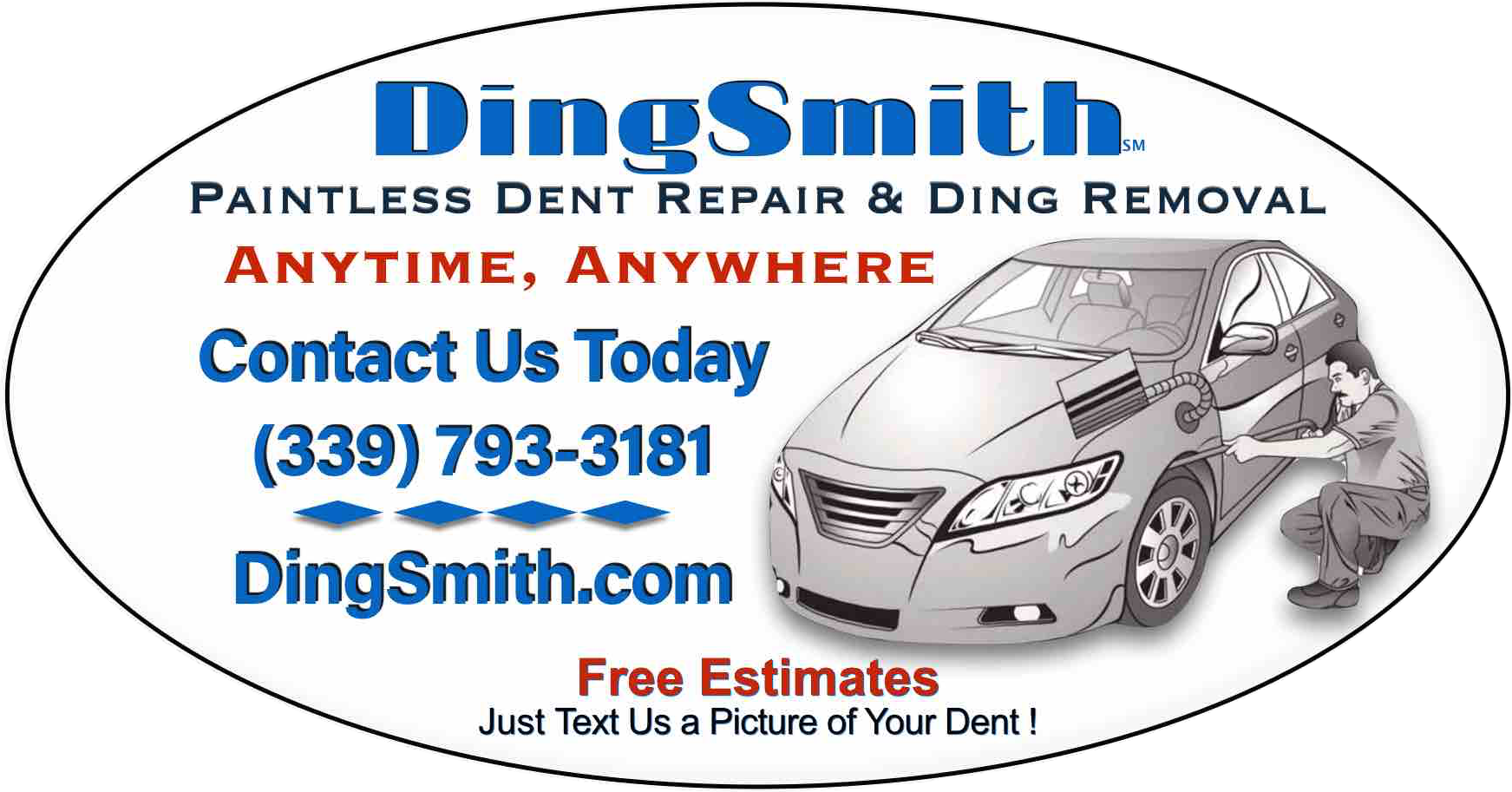 DingSmith Mobile Paintless Dent and Ding Removal of